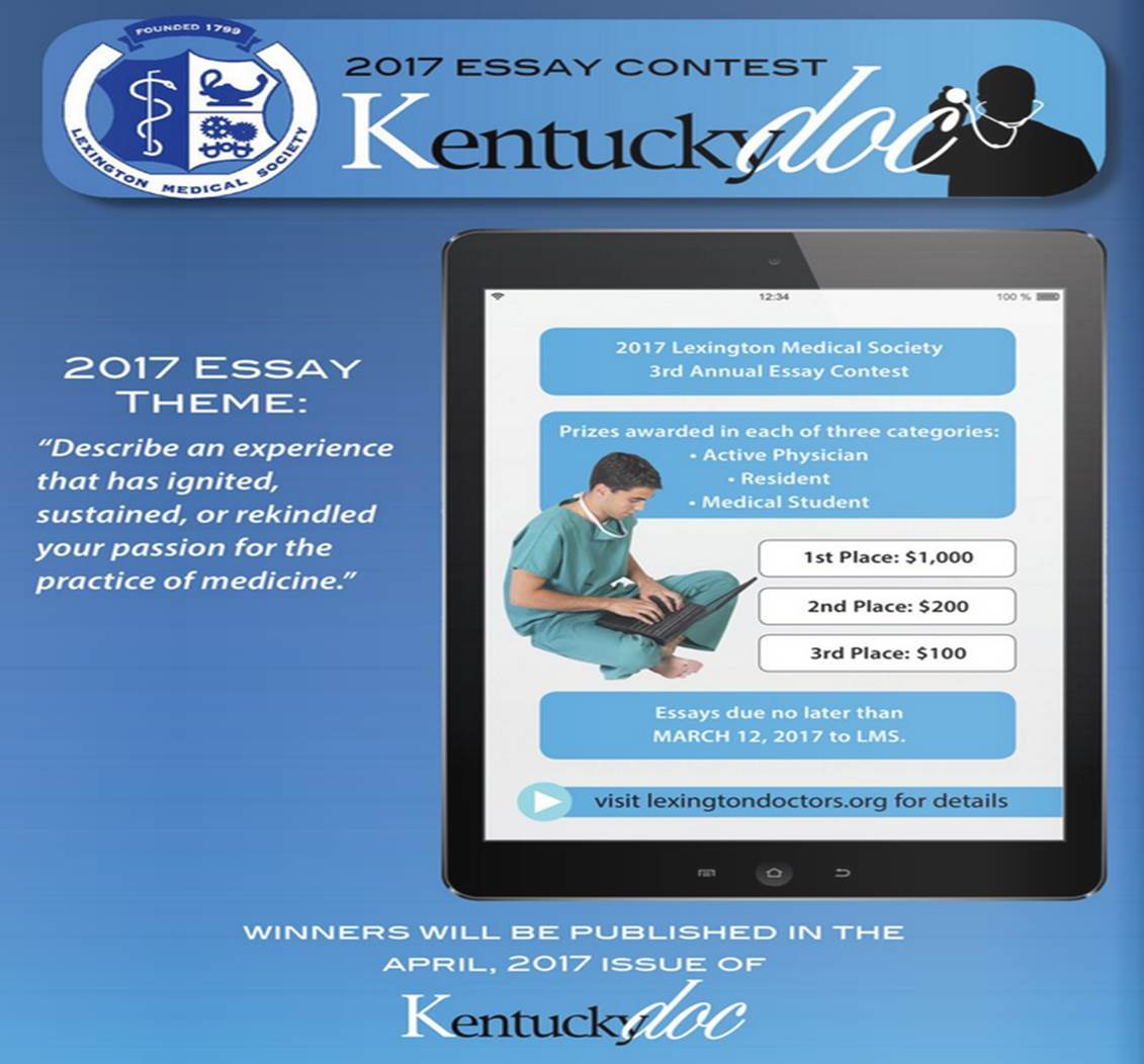 essay contest revised